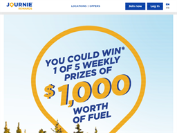 Journie Rewards Program Rewards Show official website