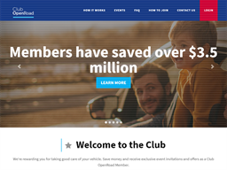 OpenRoad Auto Group Club OpenRoad Rewards Show official website