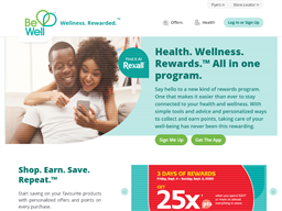 Be Well Rewards Show official website