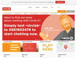 Circle K Miles Rewards Show official website