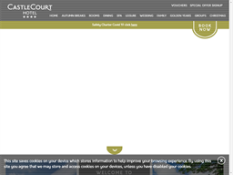 The Castlecourt Hotel Golden Breaks Programme Rewards Show official website