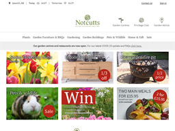 Notcutts Privilege Club Rewards Show official website